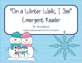 """Emergent Easy Reader: """"On A Winter Walk, I See..."""""""