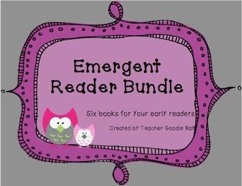 Emergent Reader Pack