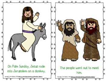 "Emergent Easy Reader: ""Palm Sunday: The Start of Holy Week"""
