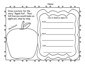 Emergent Reader Passage with Activities Fall (Apple) Themed