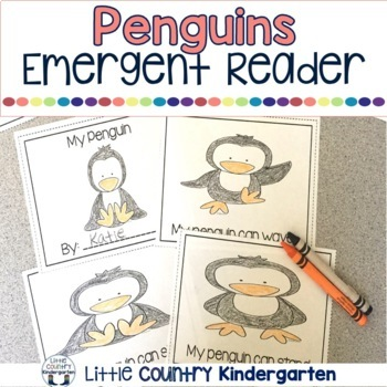 Emergent Reader: Penguins, Focus Words: My, Can