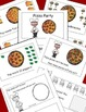 Pizza Counting Emergent Reader and Cut and Paste Activities Reader