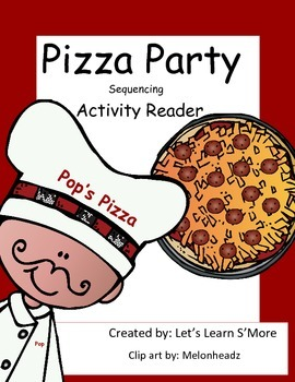 Pizza Sequencing Emergent Reader, Drawing Activities Reader