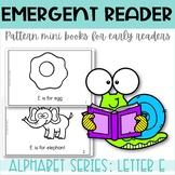 Emergent Reader Printable Mini Book Alphabet Letter E