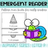 Emergent Reader Printable Mini Book Alphabet Letter P