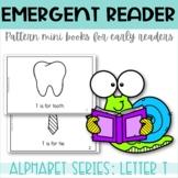 Emergent Reader Printable Mini Book Alphabet Letter T