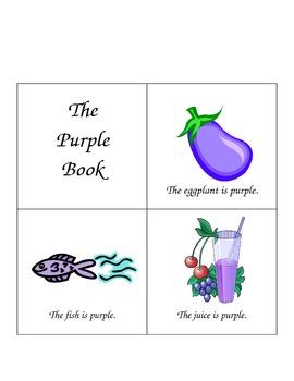 Emergent Reader - Purple Book