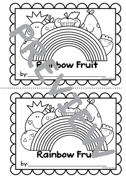 Emergent Reader: Rainbow Fruit