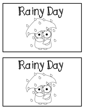 Emergent Reader- Rainy Day
