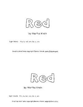 Emergent  Reader: Red