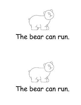 Run, Run, Run! Emergent Reader
