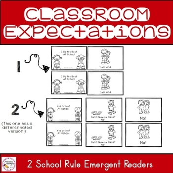 Emergent Reader- Classroom Rules
