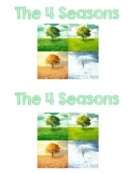 Emergent Reader - Seasons