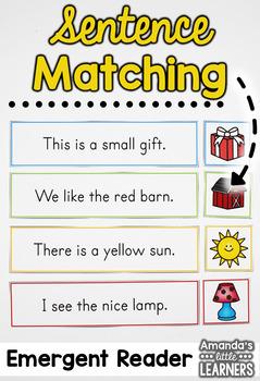 Sentence Matching Strips