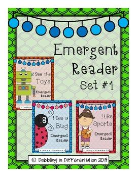Emergent Reader Set #1