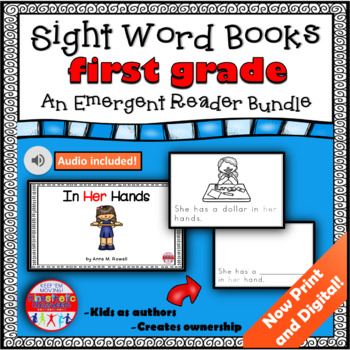 Emergent Reader Set for the First Grade Sight Words