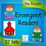 Kindergarten Emergent Readers BUNDLE