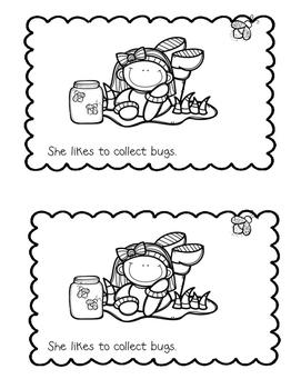 Spring Emergent Reader {Sight Word: She}