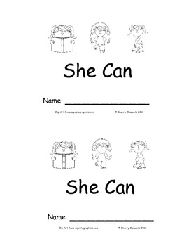 She Can: Emergent Reader
