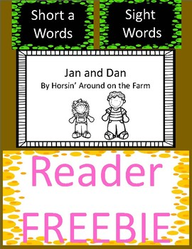 Emergent Reader - Short a and Sight words