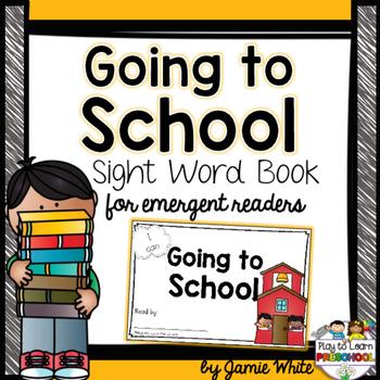 Sight Word Book - School