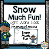 Sight Word Book - Snow