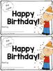 Sight Word Book - Happy Birthday