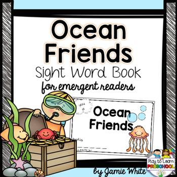 Sight Word Book - Ocean