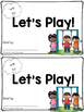 Sight Word Book - Let's Play