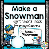Sight Word Book - Snowman