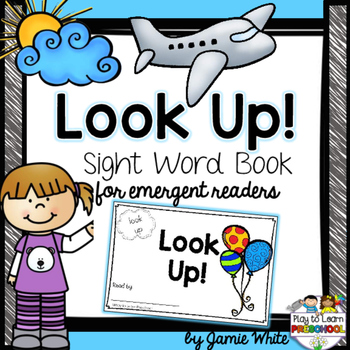 Sight Word Book - Look Up!