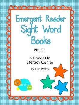 Emergent Reader Sight Word Books