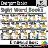 PrePrimer Sight Word Books