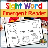Emergent Reader Sight Word Practice for Guided Reading I Can See