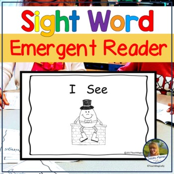 Emergent Reader Sight Word Practice for Guided Reading Nursery Rhymes