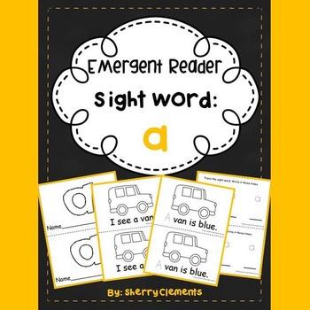 Sight Word Reader: a