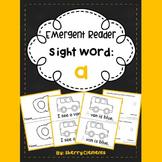 Sight Word Reader A