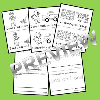 Sight Word Fluency Reader AND