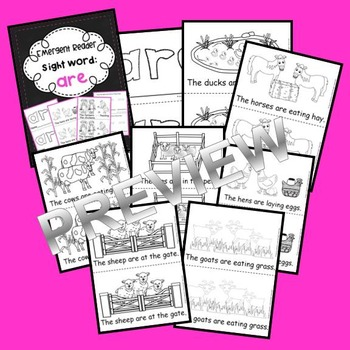Sight Word Reader: are