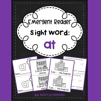 Sight Word Fluency Reader AT