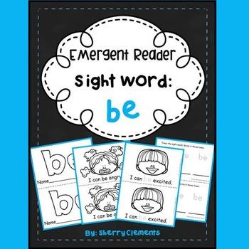 Sight Word Reader: be