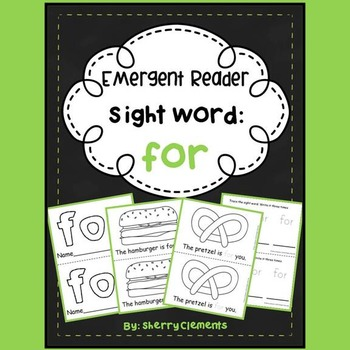 Sight Word Reader FOR