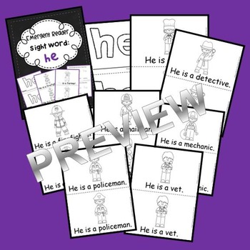 Sight Word Reader HE