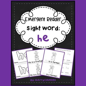 Sight Word Reader: he