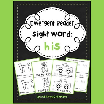 Sight Word Reader: his