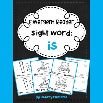 Sight Word Reader: is