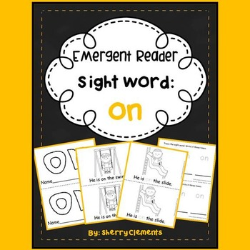 Sight Word Reader: on