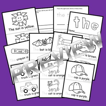 Sight Word Reader THE