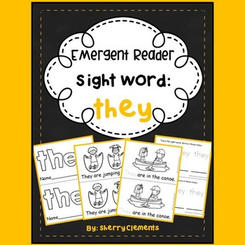 Sight Word Reader THEY