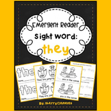 Sight Word Fluency Reader THEY